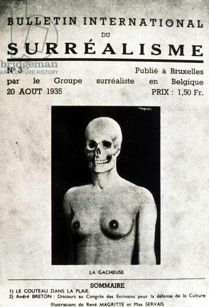 Surrealist magazine, August 20, 1935 (litho)