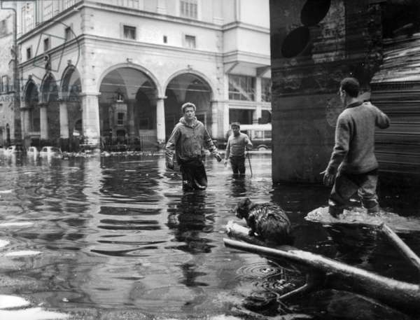 Floods in Florence Italy november 4, 1966