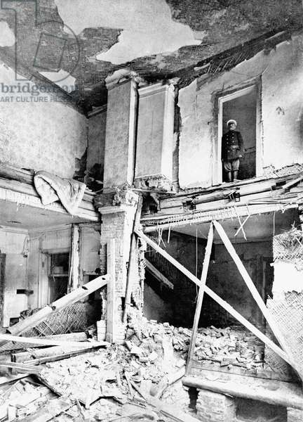 Stolypine bomb attack : after the bomb attack, View of the villa of russian minister of Interior Piotr Stolypine september 08, 1906 in Russia
