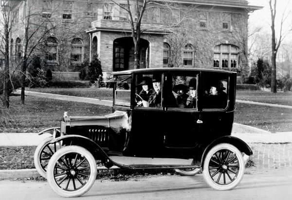 Ford car model T in 1908