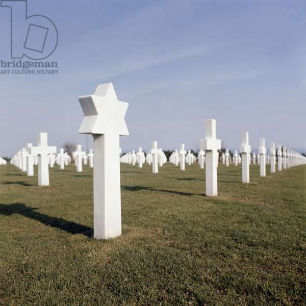 Saint Laurent sur Mer cemetery (Normandy, France) where are buried victims of landing june 1944