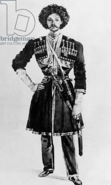 Nicolas Martynov (1815-1875) russian officer who killed Mikhail Lermontov in a duel