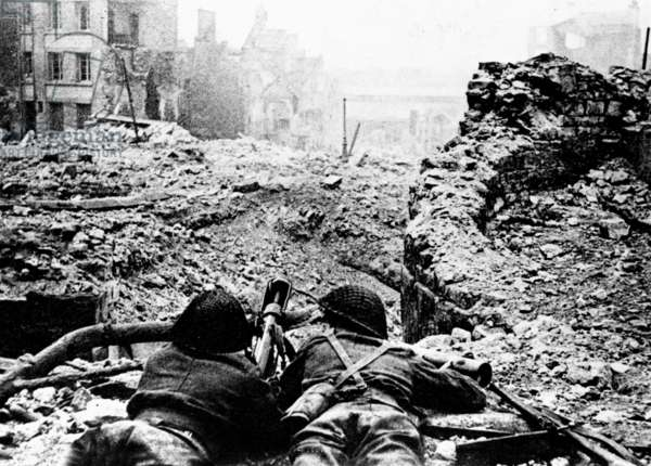 Battle of Caen led by generalMontgomery from june 12, to july 9, 1944 after the Allied Normandy Landings in France