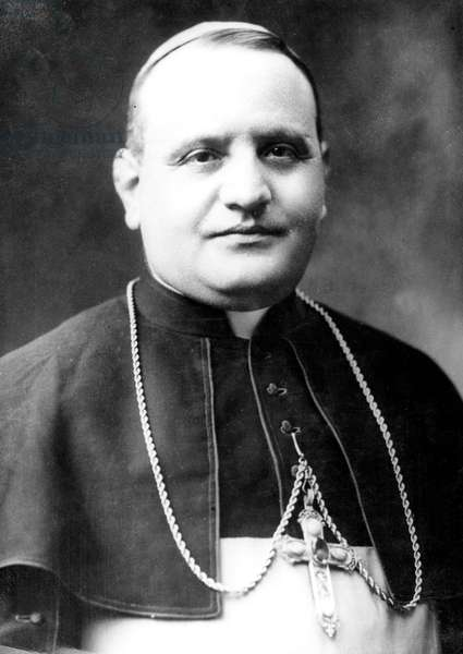 Pope John XXIII, Ange Joseph Roncalli (1881-1963, pontificate 1958-1963) in 1942