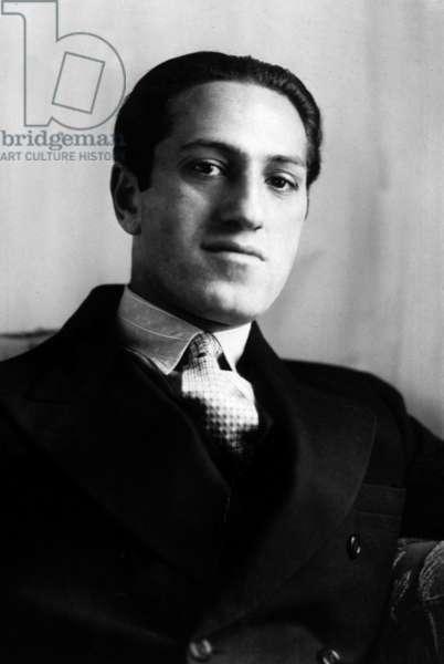 american composer George Gershwin (1898-1937) in 1928