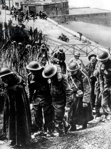 Battle of Dunkirk, June 1940 : English prisoners