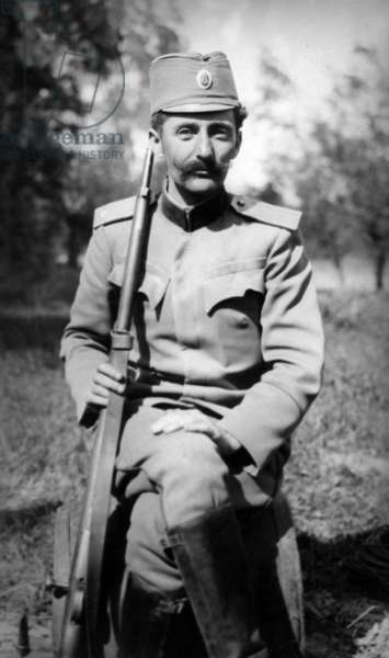 Voja Tankositch accused by Austria to have been the instigator of Sarajevo assassination attempt on Francois-Ferdinand archduke of Austria Franz Ferdinand on june 28, 1914