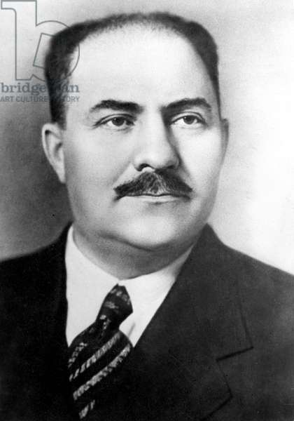 Lazar Moisseievitch Kaganovitch (1893-1963) member of the policy-making committee of the soviet communist party