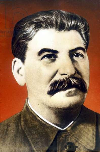 Joseph Staline (1879-1953) soviet leader, c. 1945
