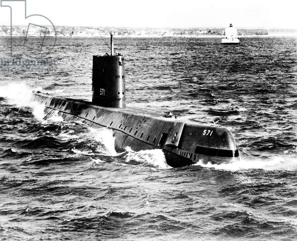 USS Nautilus american nuclear submarine, launched in 1954
