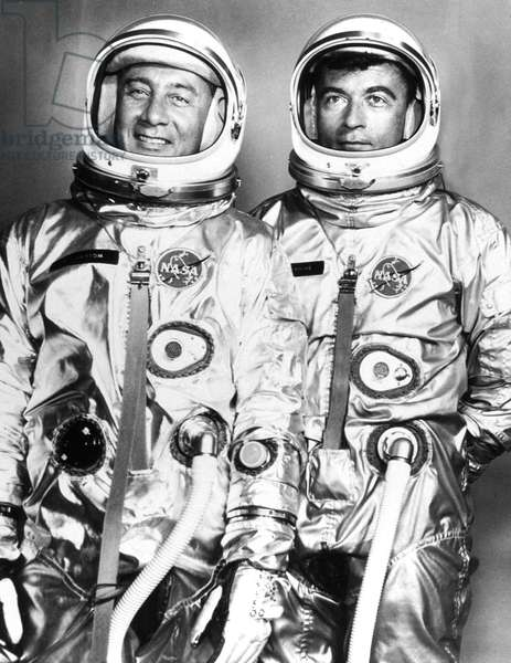 Gemini 3 (march 23, 1965) : astronauts Virgil Gus Grissom and John Young