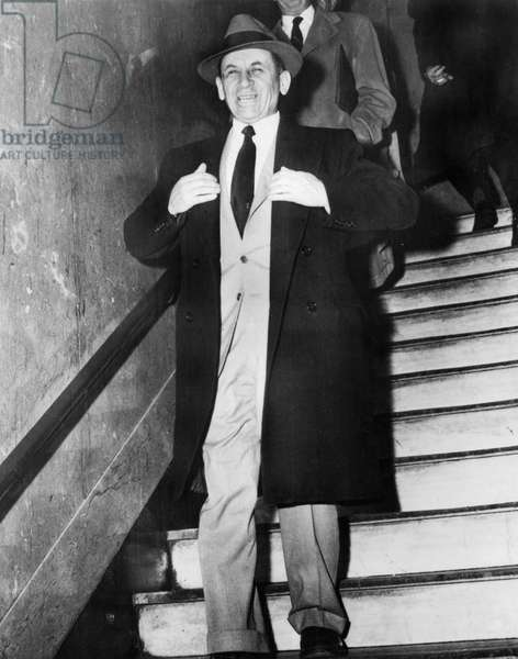 Meyer Lansky (1902-1983) American gangster who, with LuckyLuciano, was instrumental in the development of the so-called