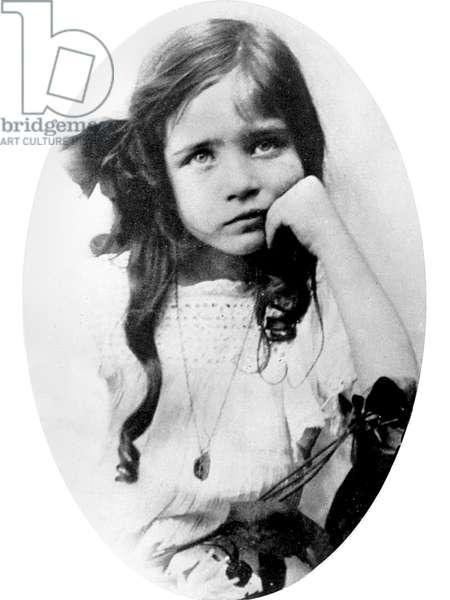 Simone de Beauvoir (1908-1986), child c.1914