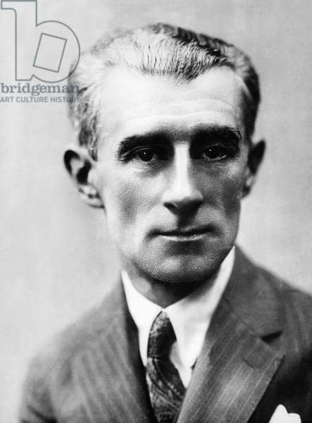 Maurice Ravel (1875-1937) French composer c.1922