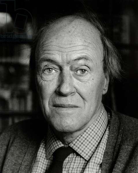 Roald Dahl - portrait