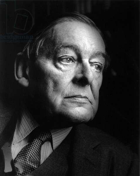 T.S. Eliot - portrait, 1964