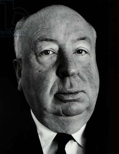 Alfred Hitchcock portrait