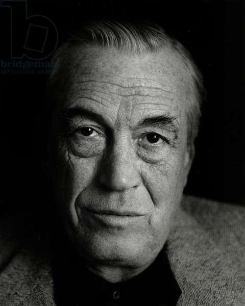 John Huston portrait 1966
