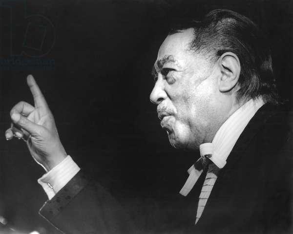 Duke Ellington in 1970