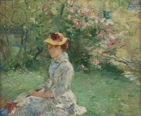 Etude de plein-air , ou Dans l'ile, 1880 (oil on canvas)