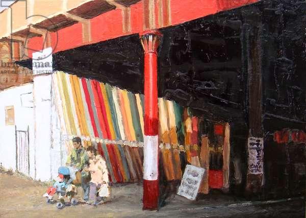 Carpets, 2008 (oil on board)