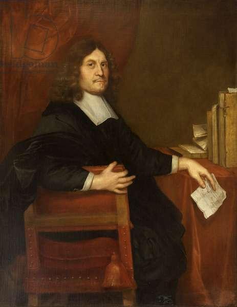 Sir Peter Leicester, Bt (oil on canvas)