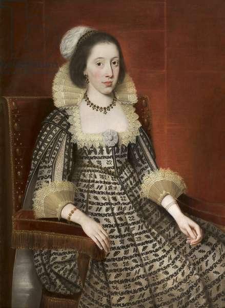Elizabeth Leicester (oil on canvas)