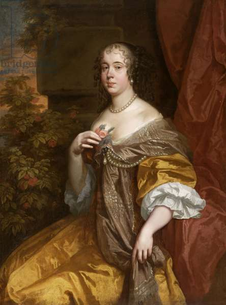 Elizabeth, Lady Leicester (oil on canvas)