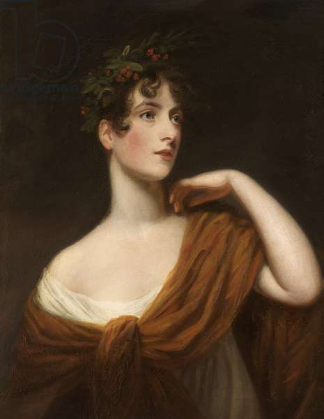 Elizabeth Searle as Miranda (oil on canvas)