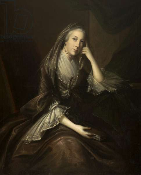 Lady Fleming of Rydal (oil on canvas)
