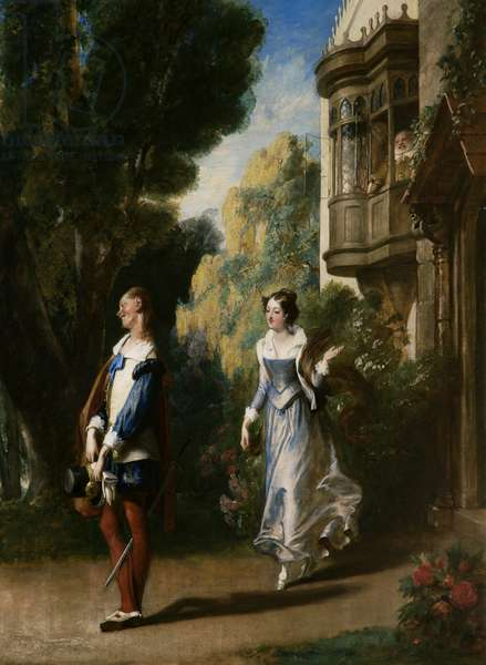 The Merry Wives of Windsor (oil on canvas)