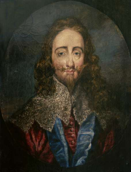 Charles I (oil on canvas)
