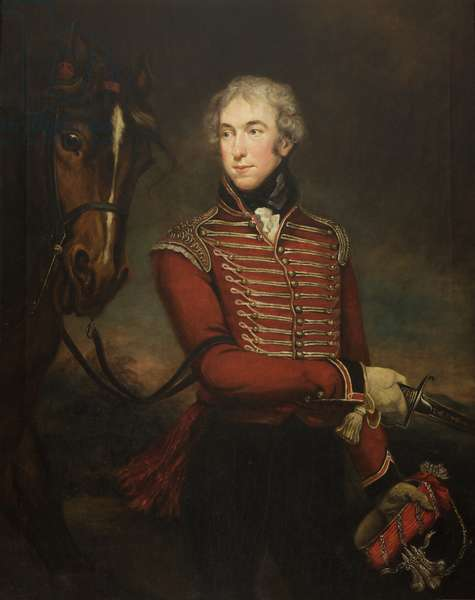 Portrait of Sir John Fleming Leicester, Bart., c.1802 (oil on canvas)