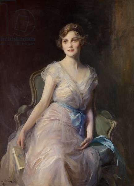 Margaret Leicester Warren, 1928 (oil on canvas)