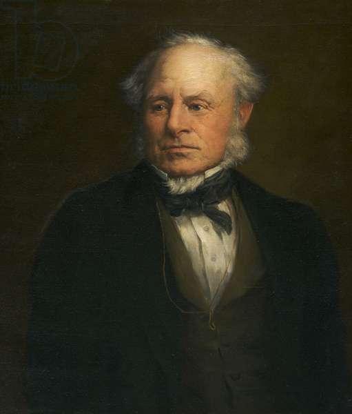 Sir Baldwin Leighton, Bt (oil on canvas)