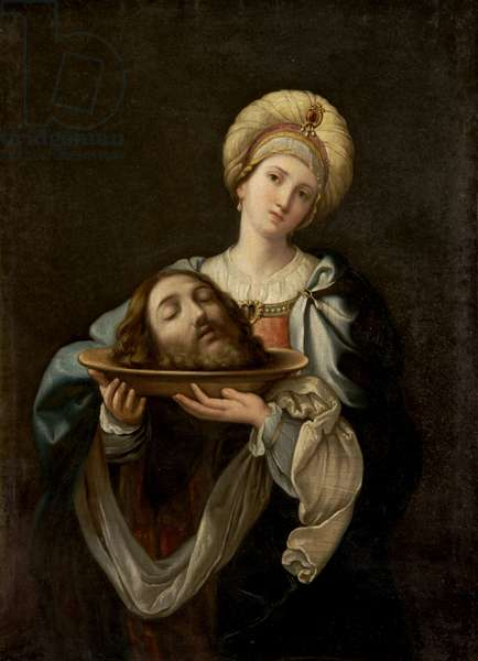 Salome with the Head of Saint John the Baptist (oil on canvas)