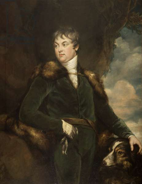 Portrait of Thomas Lister Parker, c.1802 (oil on canvas)