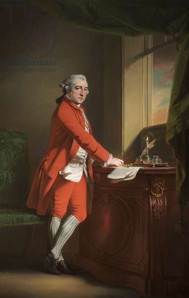 Sir Peter Byrne Leicester, 4th Baronet, 1769 (oil on canvas)