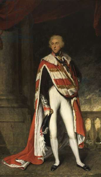 Sir John Fleming Leicester, Bart., in Peer's Robes, 1789-1826 (oil on canvas)