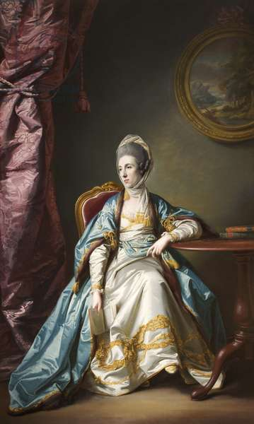 Catherine Fleming, Lady Leicester (oil on canvas)