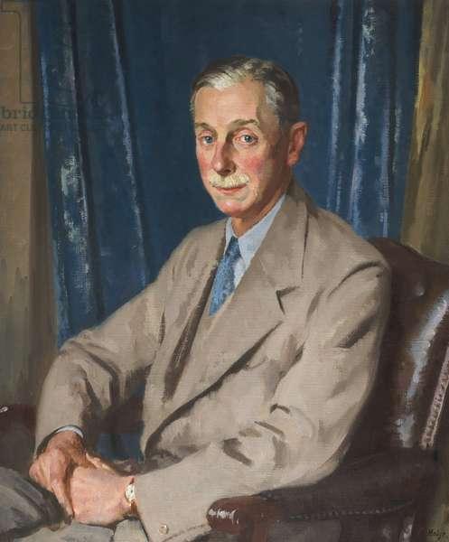 Cuthbert Leicester Warren (oil on canvas)