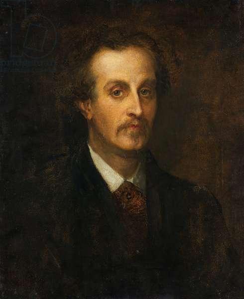 Sir Baldwin Leighton (oil on canvas)