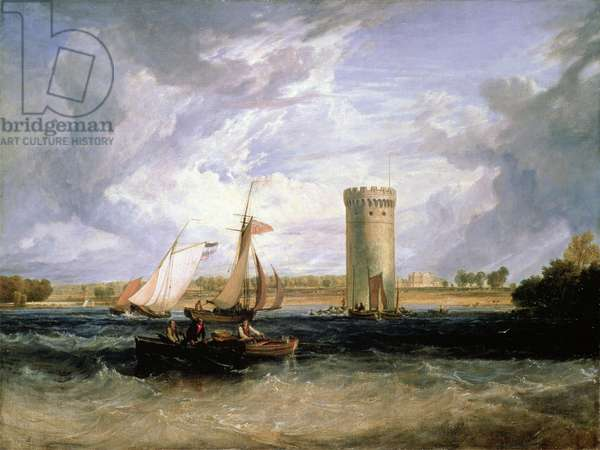 Tabley, the Seat of Sir J.F. Leicester Bt.: Windy Day (oil on canvas)
