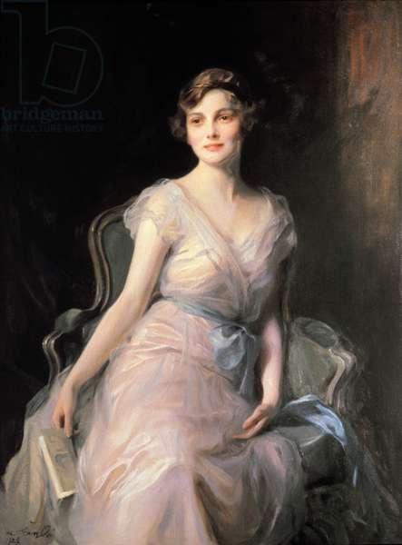 Portrait of Miss Leicester-Warren, 1929 (oil on canvas)