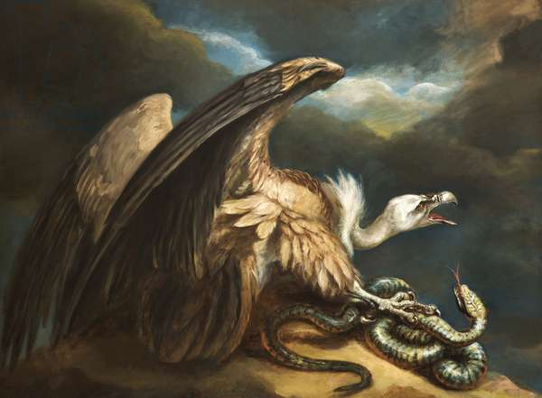 Vulture and Snake, 1798 (oil on canvas)