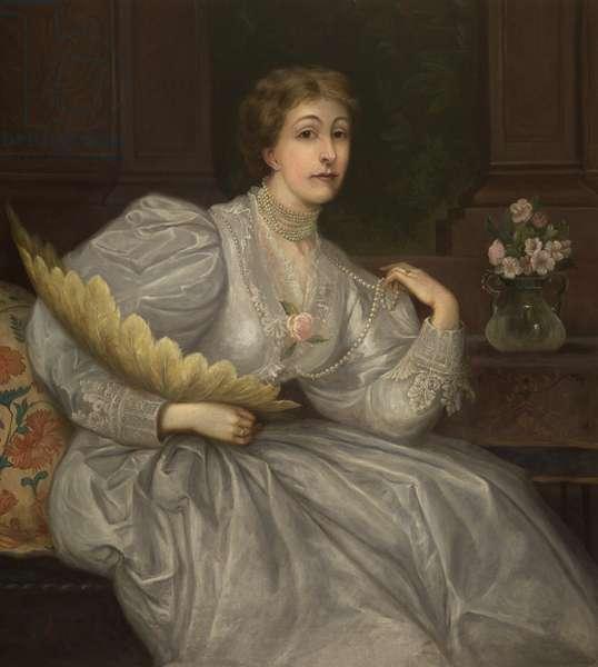 The Honourable Eleanor Leicester Leighton-Warren (oil on canvas)
