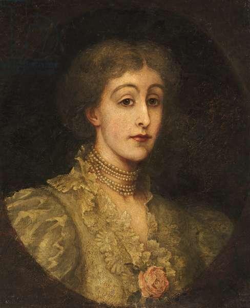 Lady Leighton (oil on canvas)