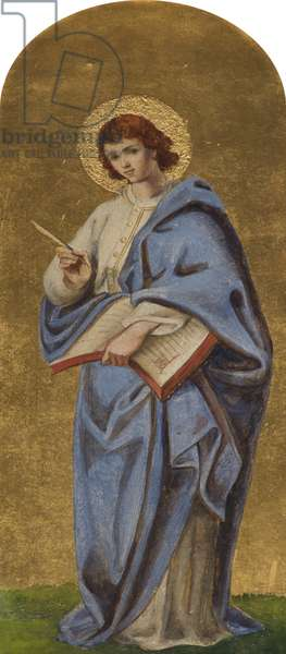 Saint John the Baptist (oil on board)