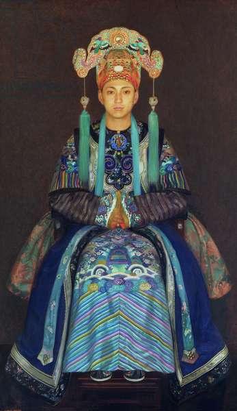 Pilgun Yoon as Aladdin, c.1924 (oil on canvas)
