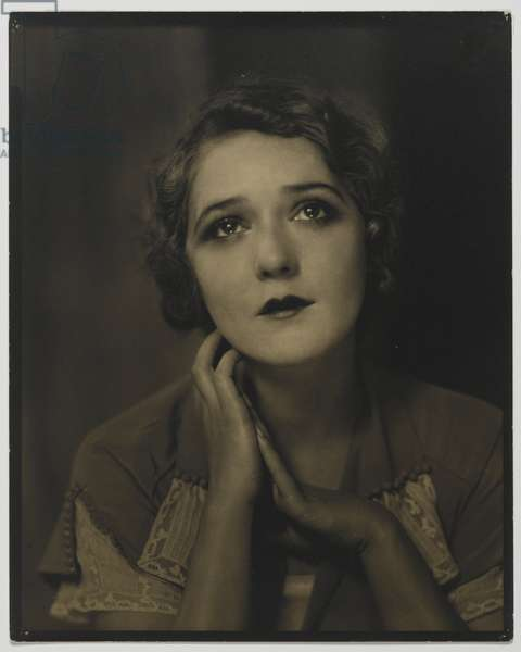 Mary Pickford, March, 1924 (vintage silver print)